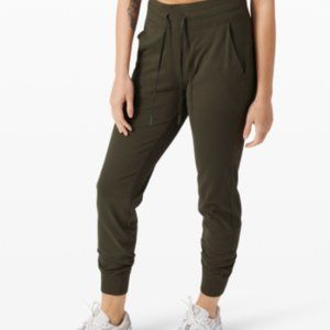 Lululemon Army Green Track Pants